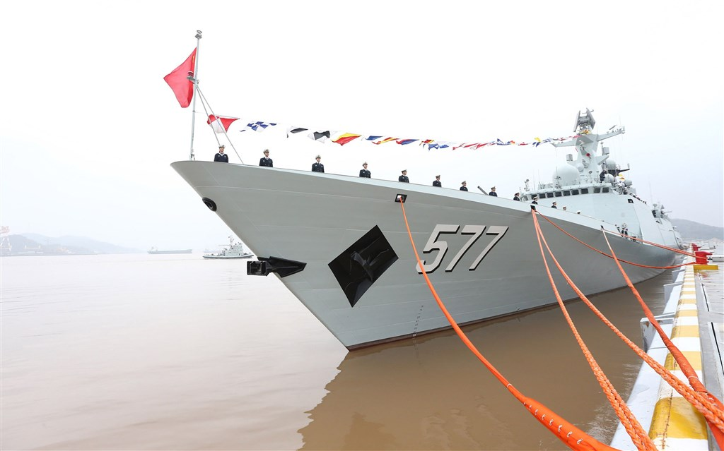 China News Service file photo of a vessel in the PLA