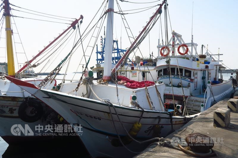CNA file photo of a distant-fishing vessel.