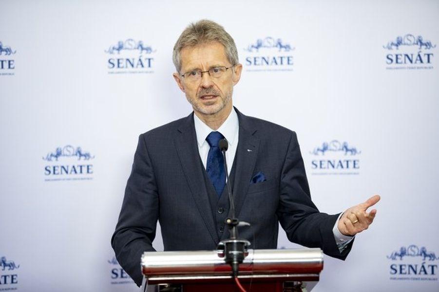 Miloš Vystrčil, president of the Senate of the Czech Republic. Image taken from twitter.com/SenatCZ