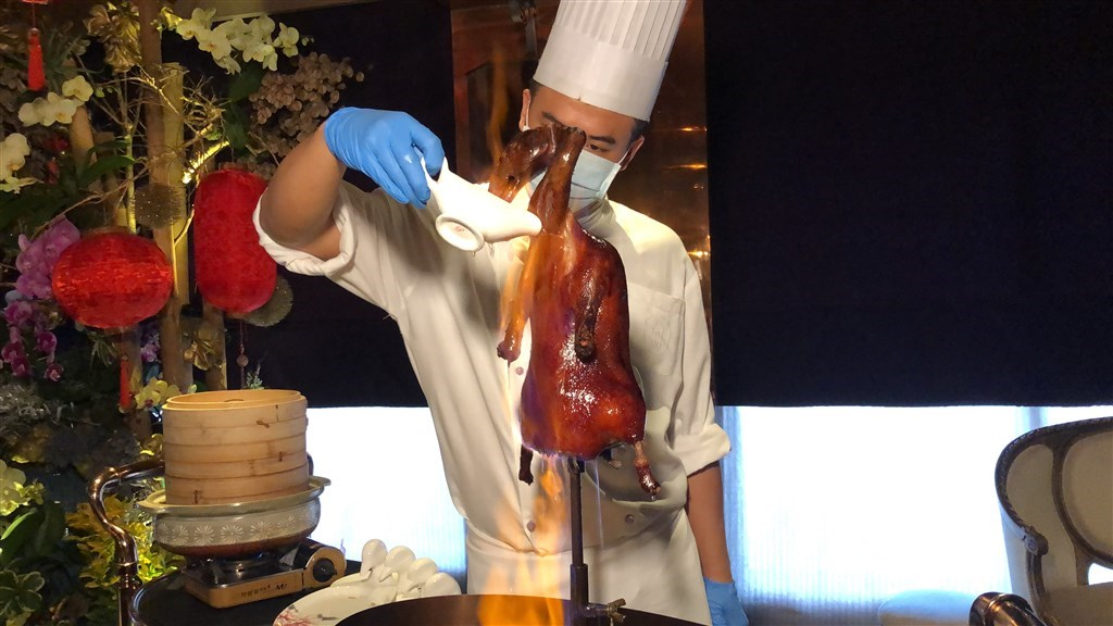 A chef at Le Palais/ Photo courtesy of a member of the public