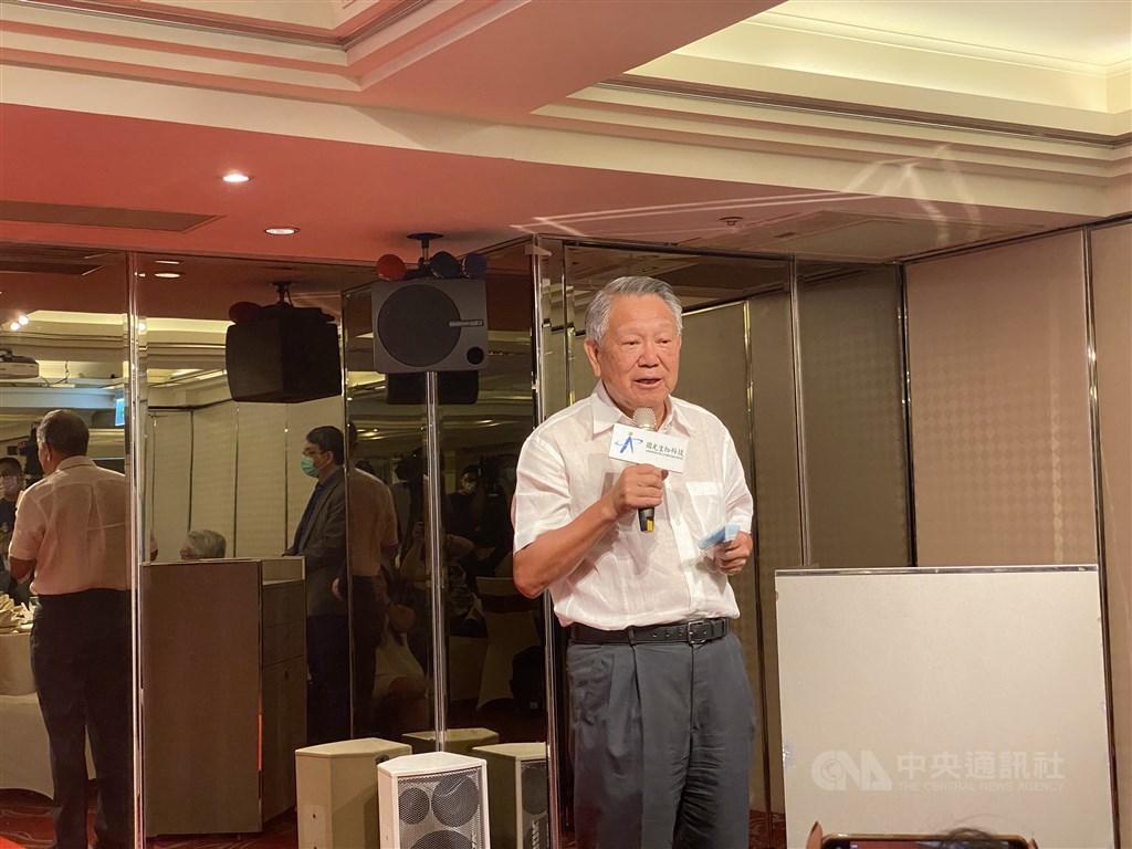 Adimmune Chairman Chan Chi-hsien (詹啟賢) / CNA photo Aug. 27, 2020