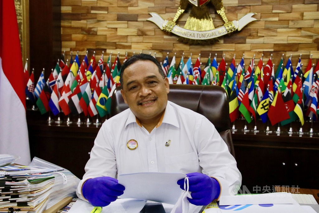 Benny Rhamdani, chief of the Indonesian Migrant Workers Protection Board