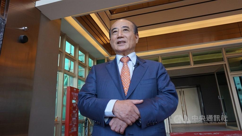 Former Legislative Speaker Wang Jin-pyng (CNA file photo)