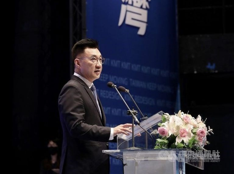 KMT chairman Johnny Chiang (江啟臣) / CNA file photo