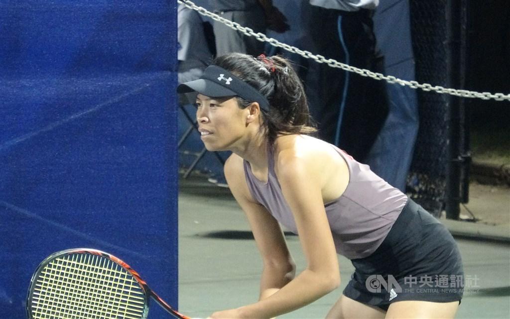 Tennis player Hsieh Su-wei. CNA file photo