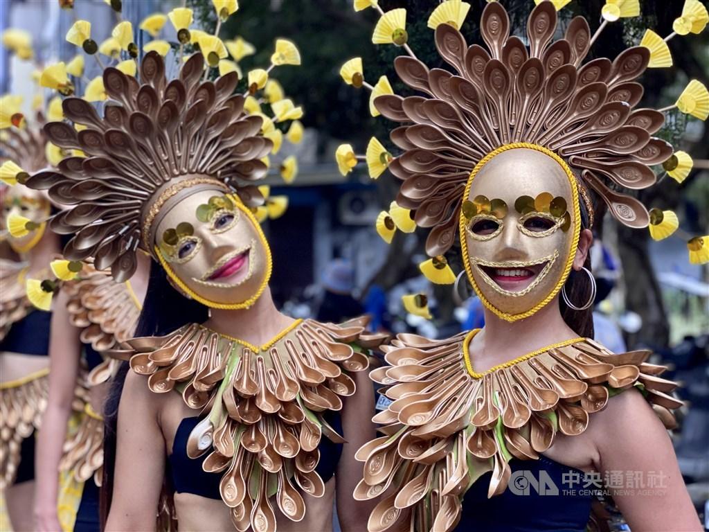 Taipei Masskara Festival. Sept. 20, 2020