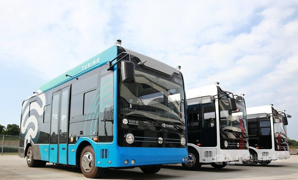 Autonome Busse in Taiwan
