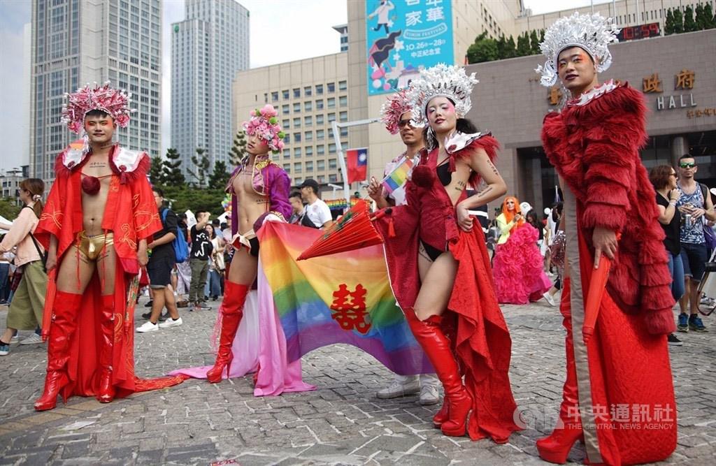 2019 Taiwan LGBT Pride / CNA file photo
