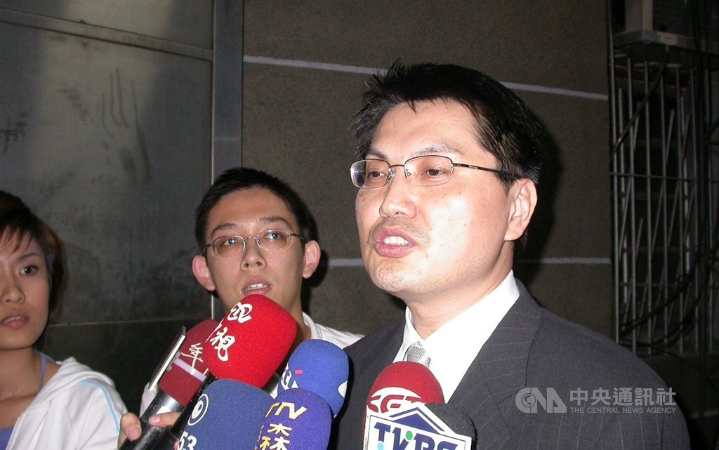 Former FSC official Lee Chin-cheng (right). CNA file photo