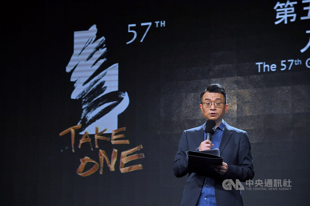 Taipei Golden Horse Film Festival Executive Committee CEO Wen Tien-hsiang. CNA photo Sept. 30, 2020