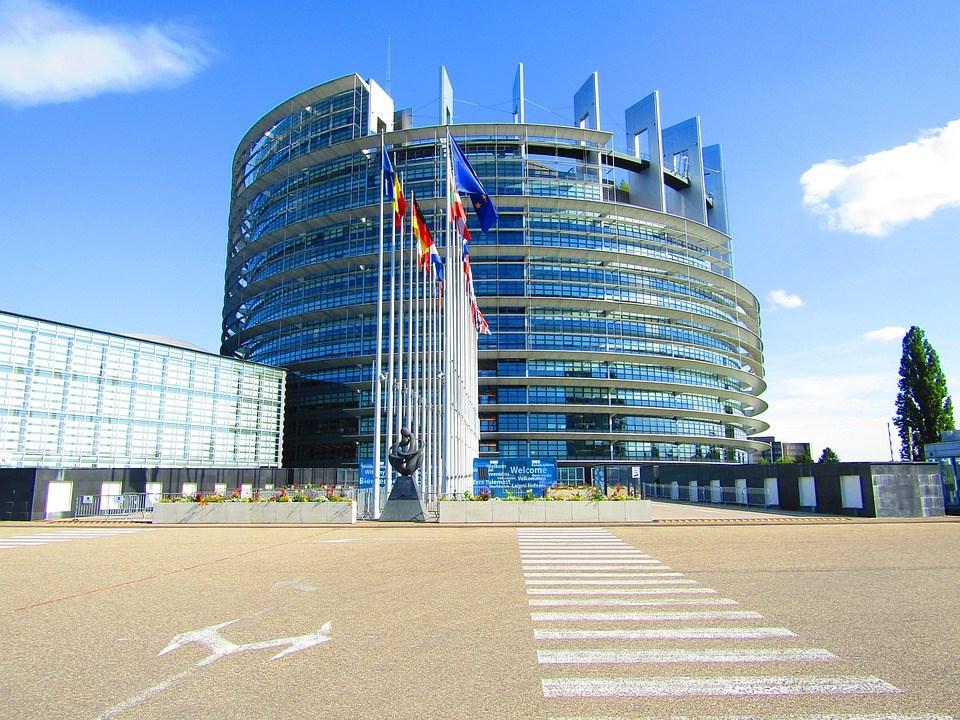 The European Parliament in Strasbourg (source: Pixabay.com)