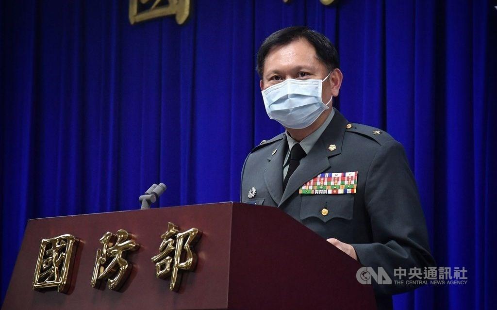 Defense Ministry spokesman Shih Shun-wen. CNA file photo