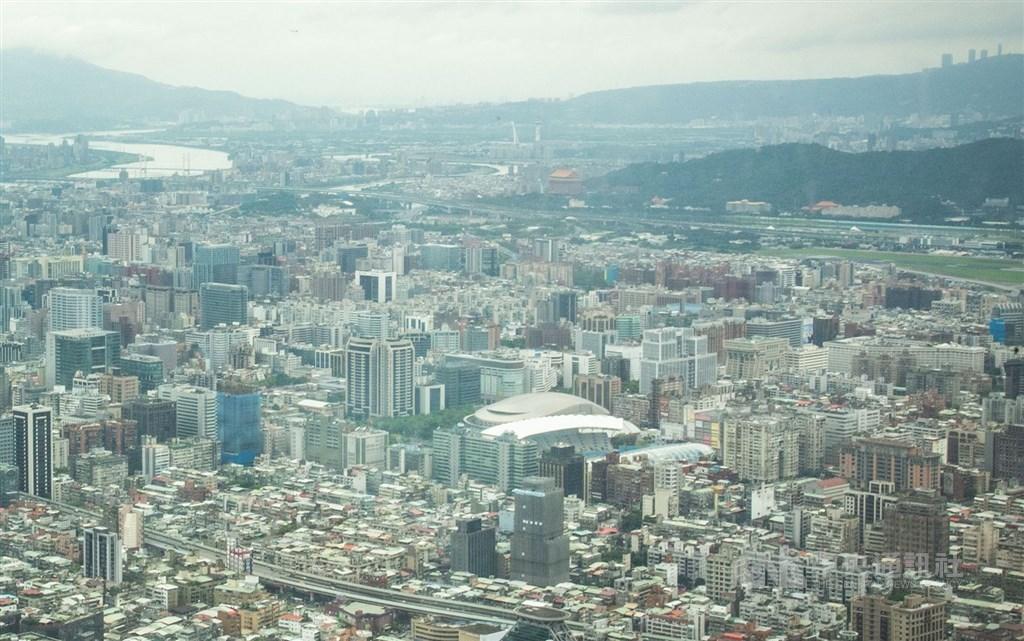 A view of Taipei. CNA file photo