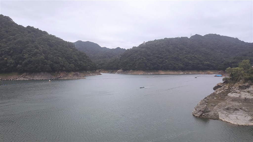 Shihmen Reservoir in Taoyuan. Photo courtesy of the Northern Region Water Resources Office Sept. 26, 2020