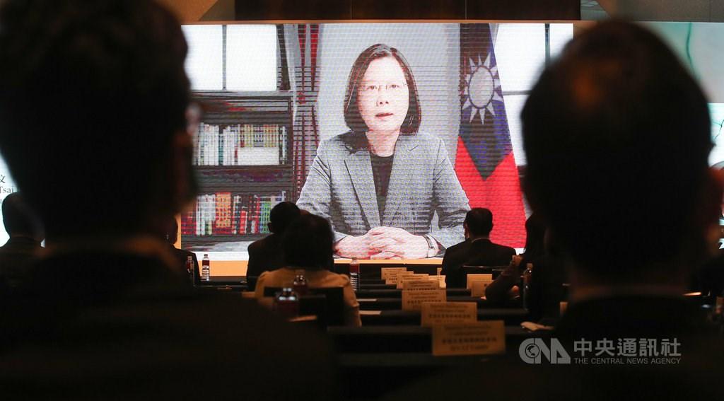 President Tsai Ing-wen (蔡英文) / CNA photo Oct. 8, 2020