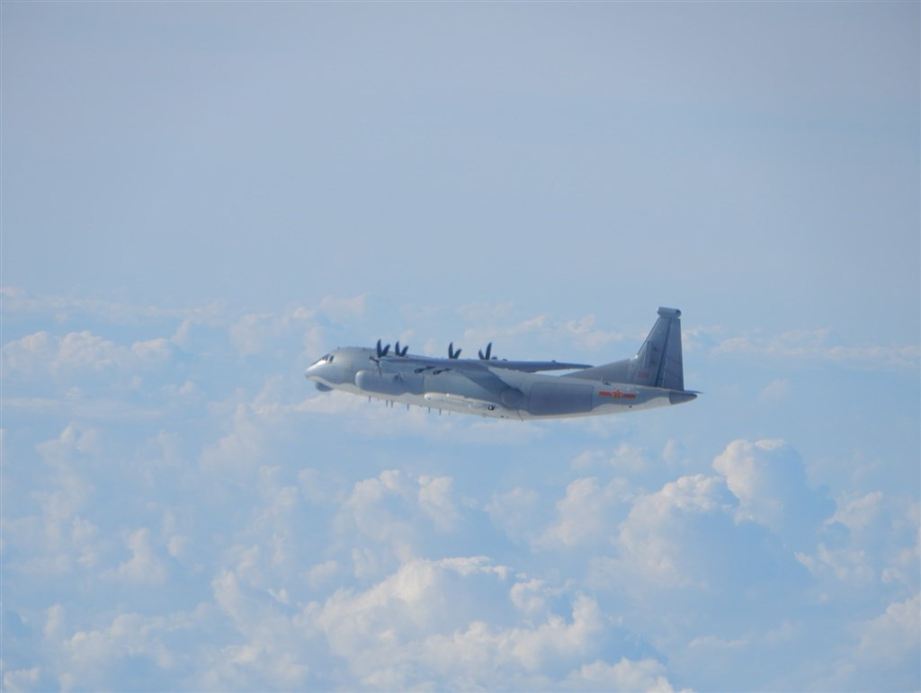A Shaanxi Y-9 transport plane. Photo courtesy of the Ministry of National Defense