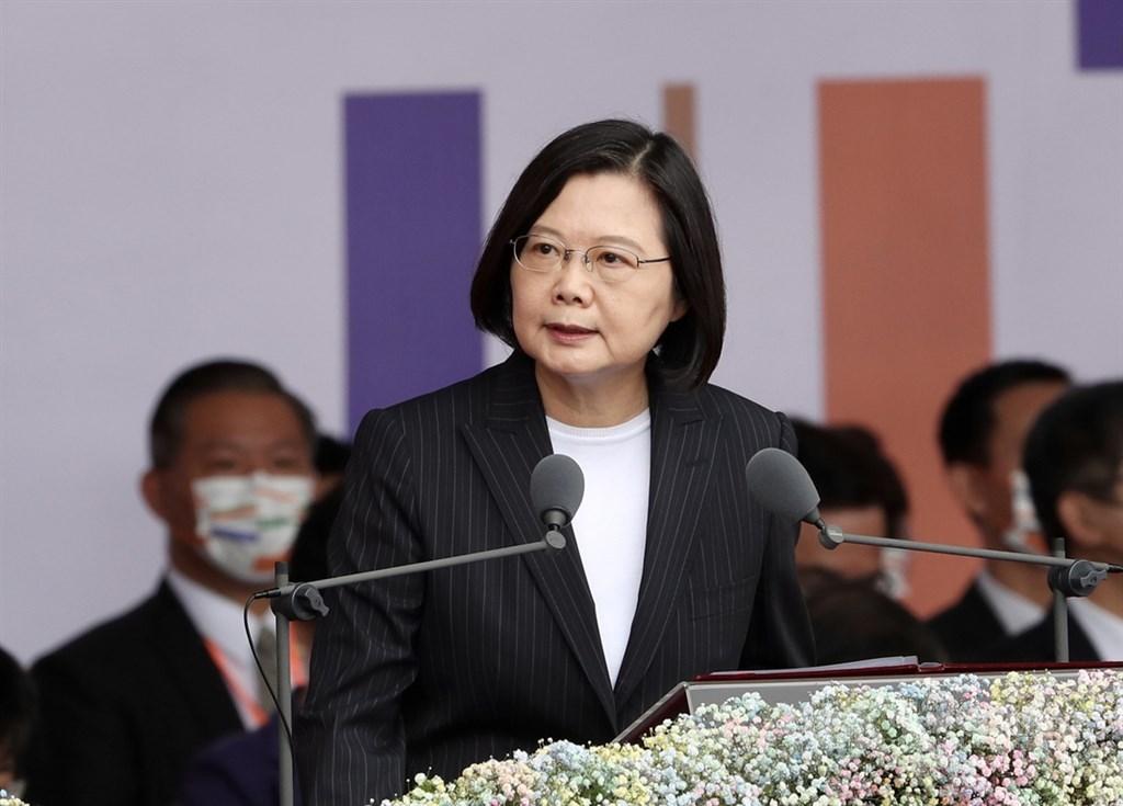 President Tsai Ing-wen. CNA photo Oct. 10, 2020