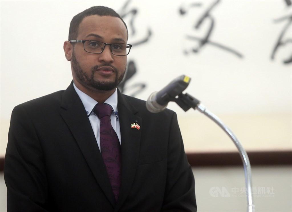 Mohamed Omar Hagi Mohamoud. CNA photo Oct. 12, 2020