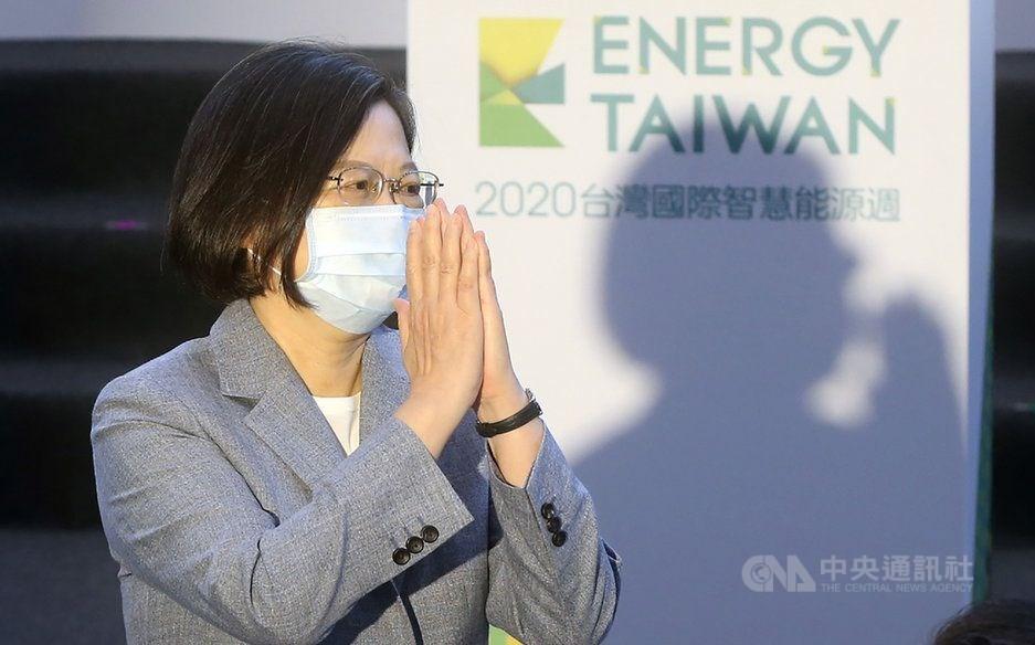 President Tsai Ing-wen. CNA photo Oct. 14, 2020