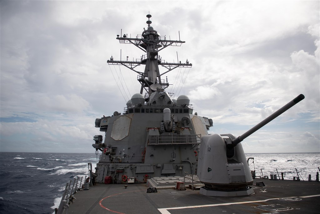 The USS Barry. Photo from the U.S. Pacific Fleet Twitter account
