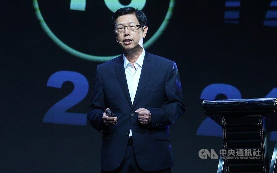 Hon Hai Chairman Liu Young-way. CNA photo Oct. 16, 2020