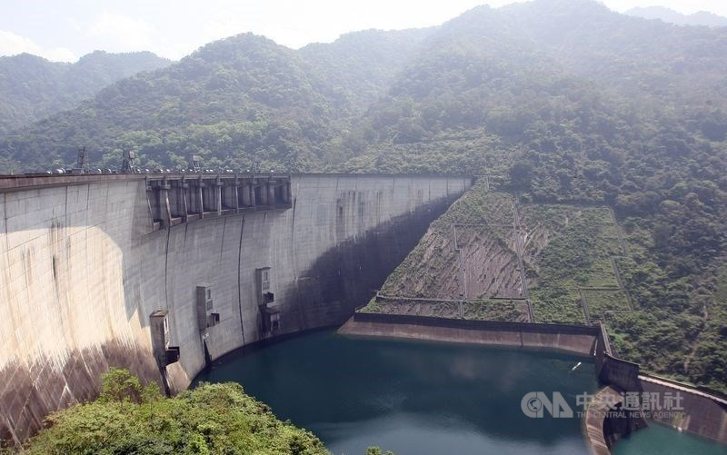 Feitsui Reservoir in New Taipei. CNA file photo