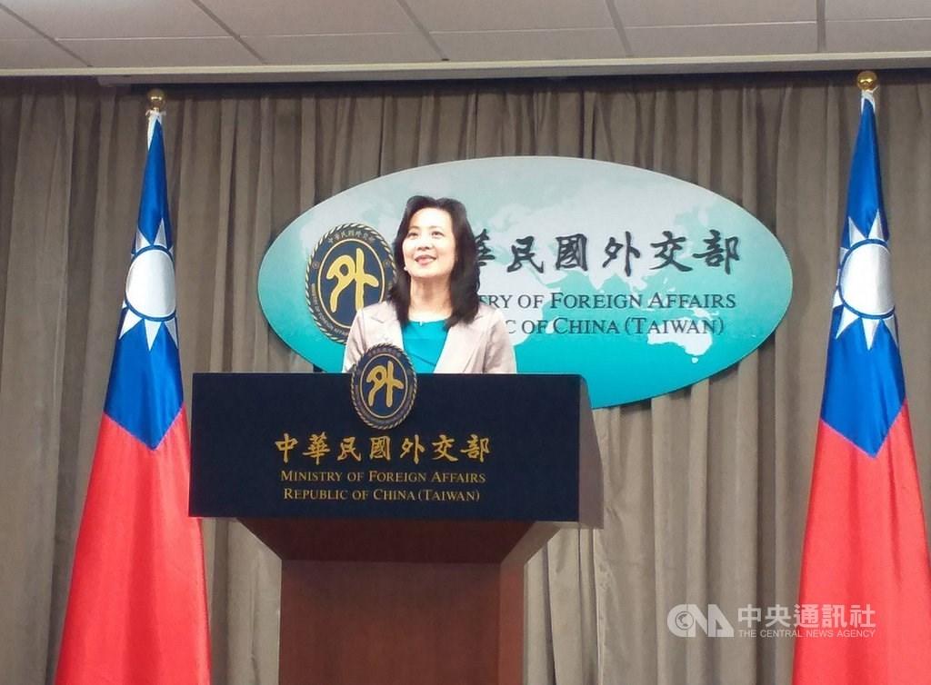 MOFA spokesman Joanne Ou (歐江安) / CNA file photo