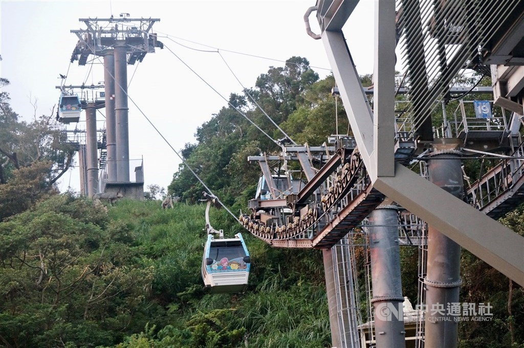 The Maokong Gondola line / CNA file photo