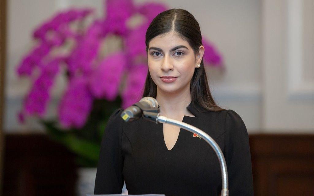 Mirna Mariela Rivera Andino. Photo courtesy of the Presidential Office