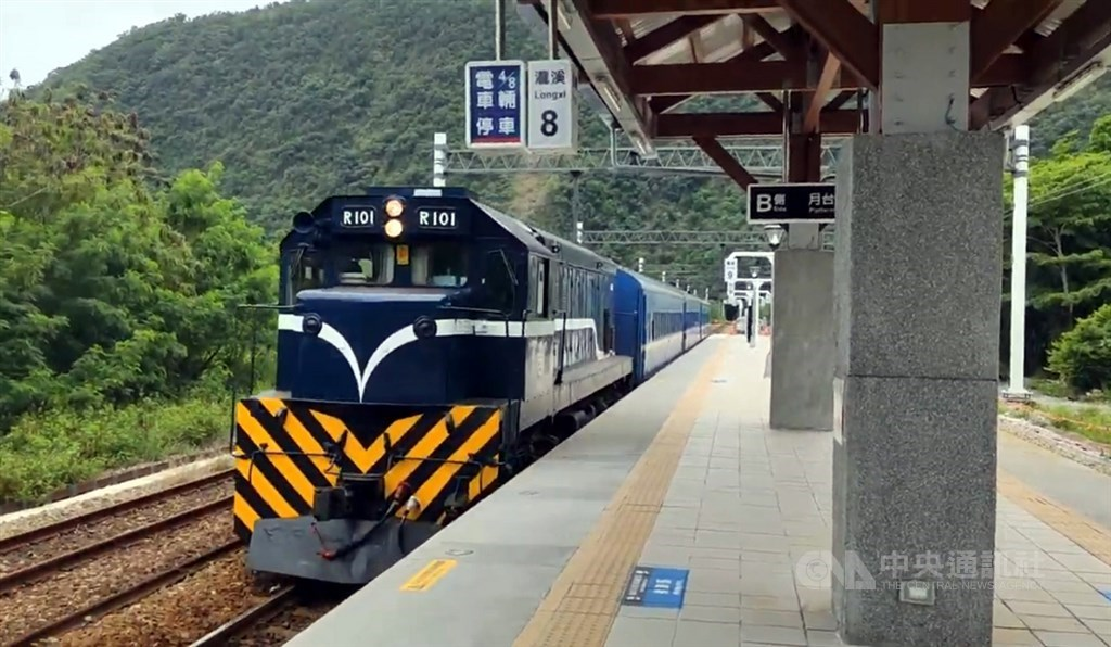 A train station in Taitung County. CNA file photo