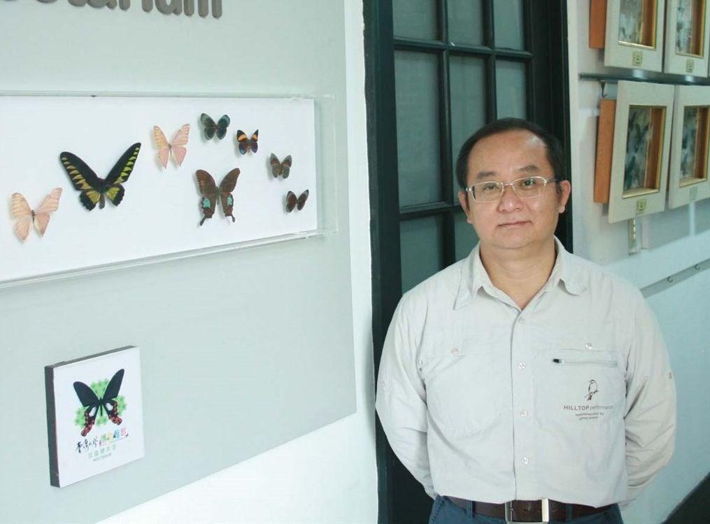 Ko Chiun-cheng (柯俊成) / Image source taken from entomol.ntu.edu.tw/Default.html
