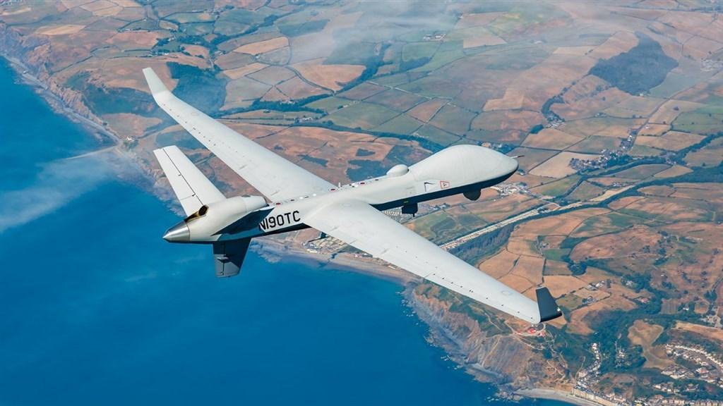 A MQ-9B drone (Image from twitter.com/GenAtomics_ASI)