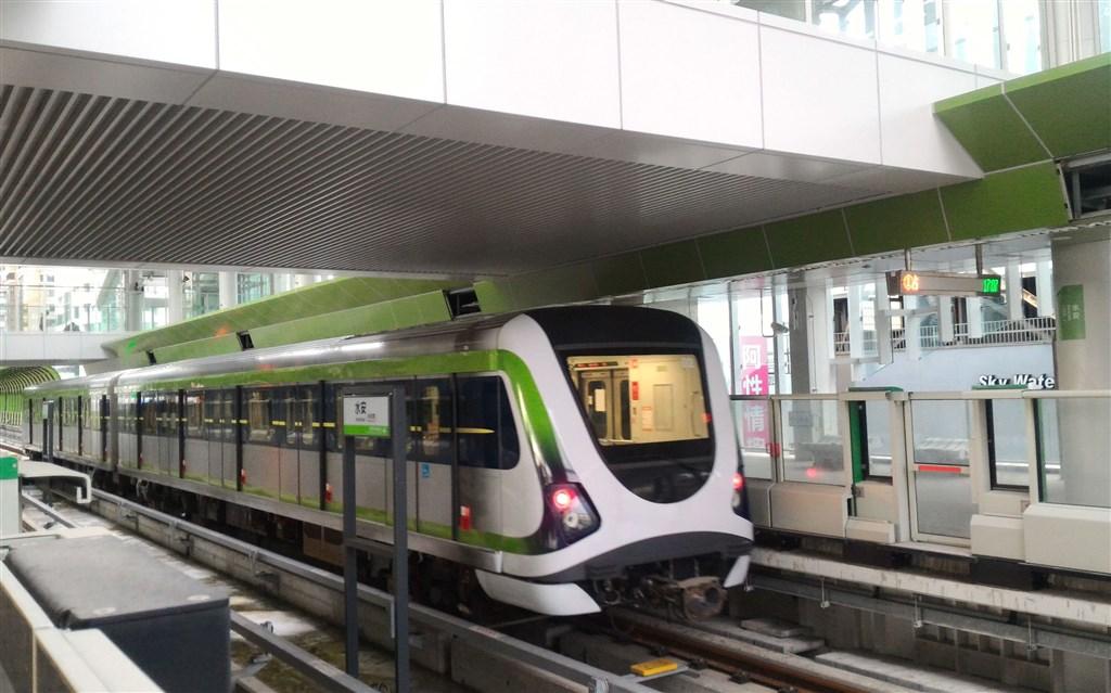 File photo courtesy of Taichung Mass Rapid Transit Co.