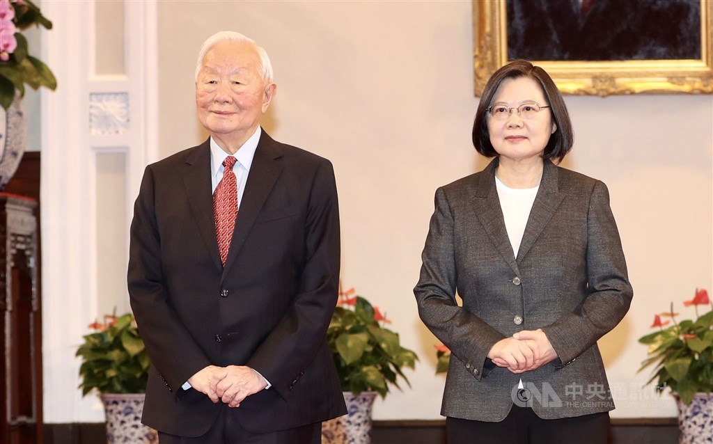 Tsai names TSMC founder as Taiwan's envoy to APEC summit