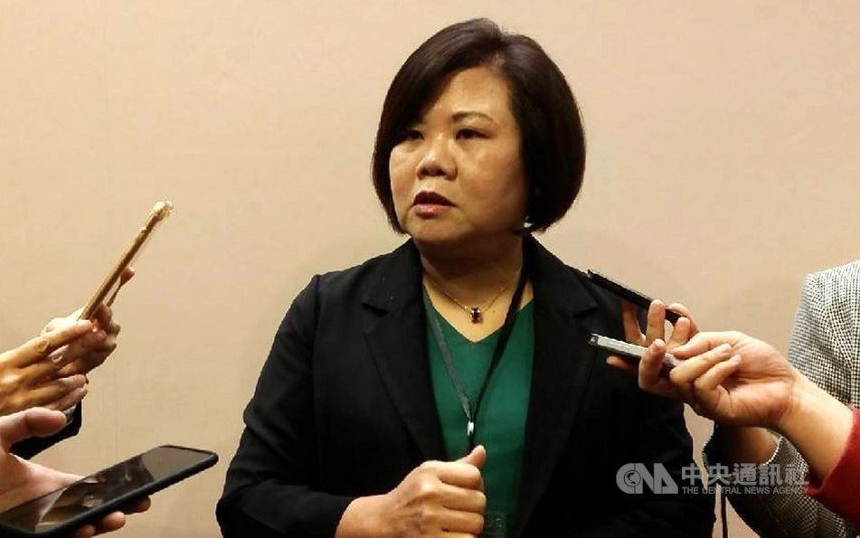 Minister of Labor Hsu Ming-chu. CNA photo Nov.11,2020