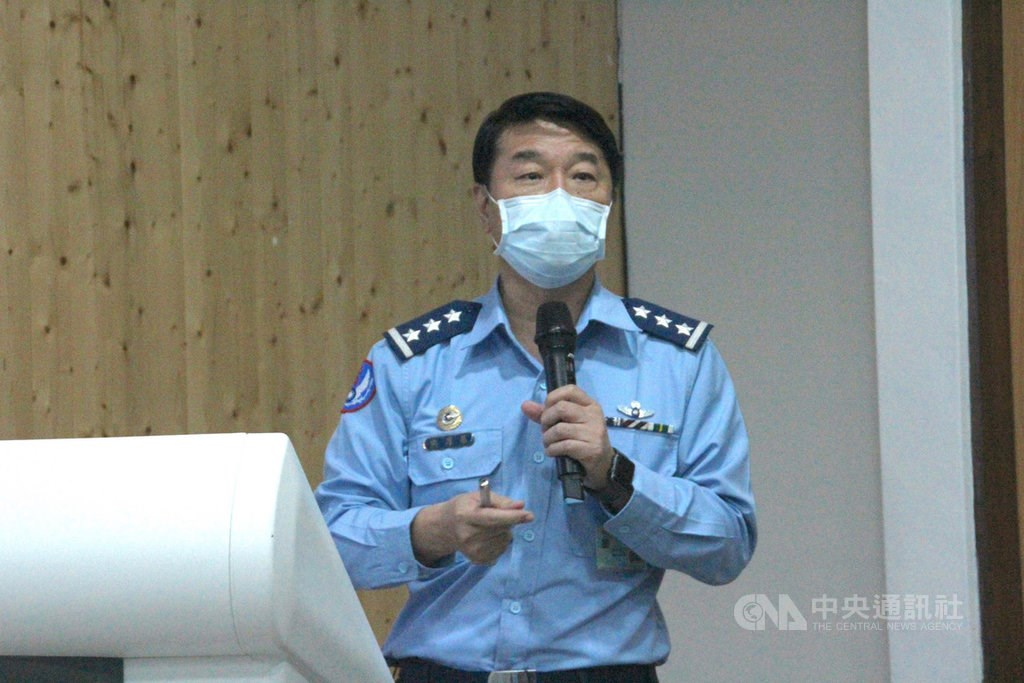 Air Force chief Hsiung Hou- chi. CNA photo Nov. 21, 2020