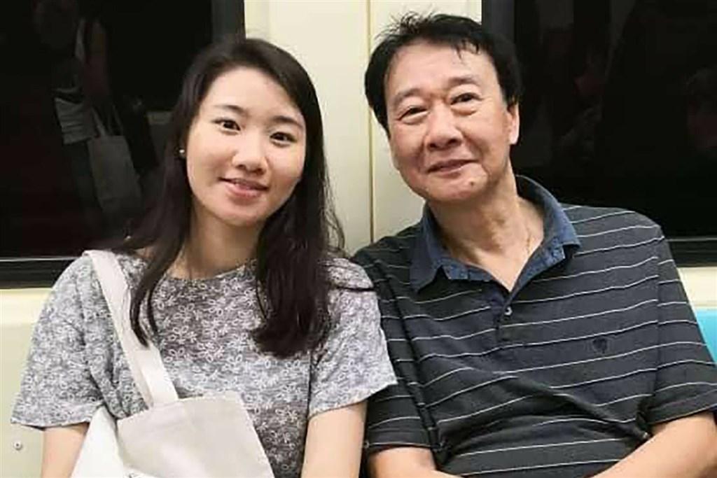 Elaine Tseng (left) and her father Tseng Kin-fui. Photo courtesy of Tseng Kin-fui