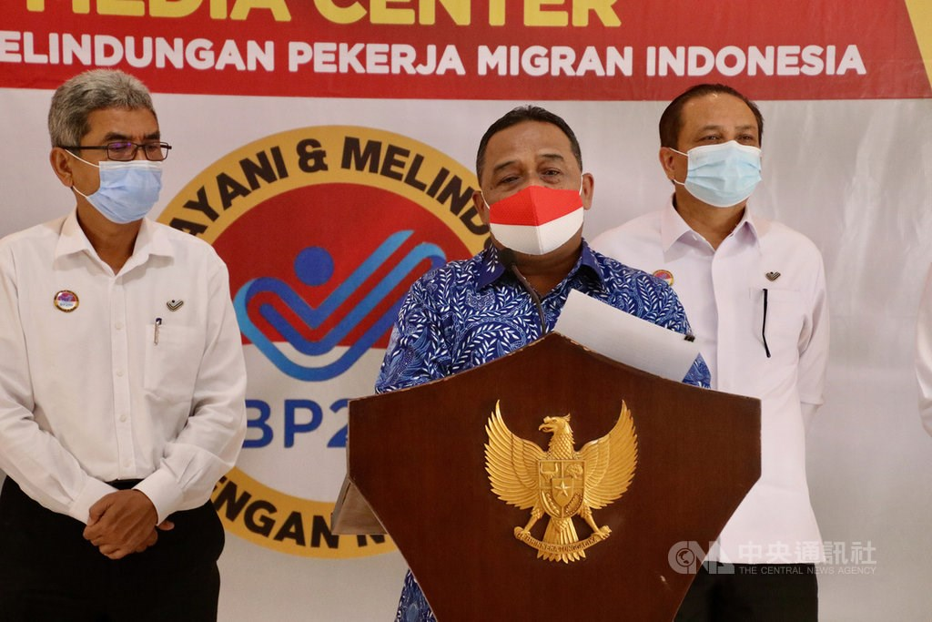 Benny Rhamdani, head of the Agency for the Protection of Indonesian Migrant Workers (BP2MI)