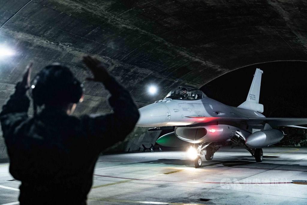 An F-16V. Photo courtesy of the Military News Agency