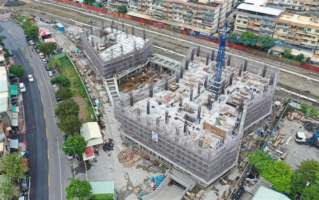 A social housing project with 245 residential units being built in Kaohsiung. Photo courtesy of Kaohsiung City government Nov. 30, 2020