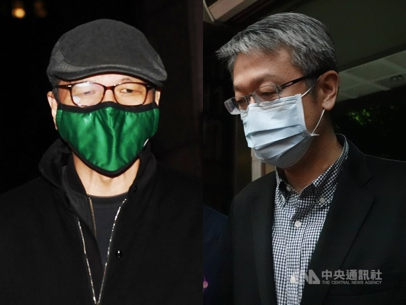Daniel Tarng (left) and Chiu Ming-chiang (right) / CNA file photo