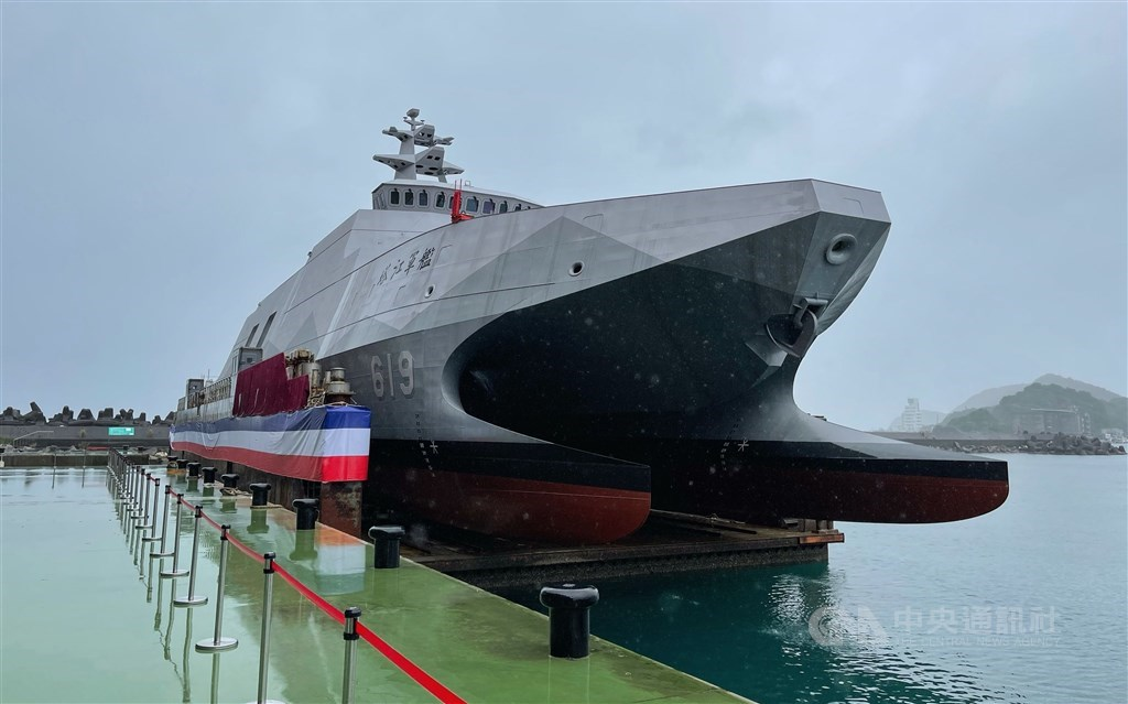 The upgraded version of its Tuo Chiang-class missile corvette. CNA photo Dec. 15, 2020