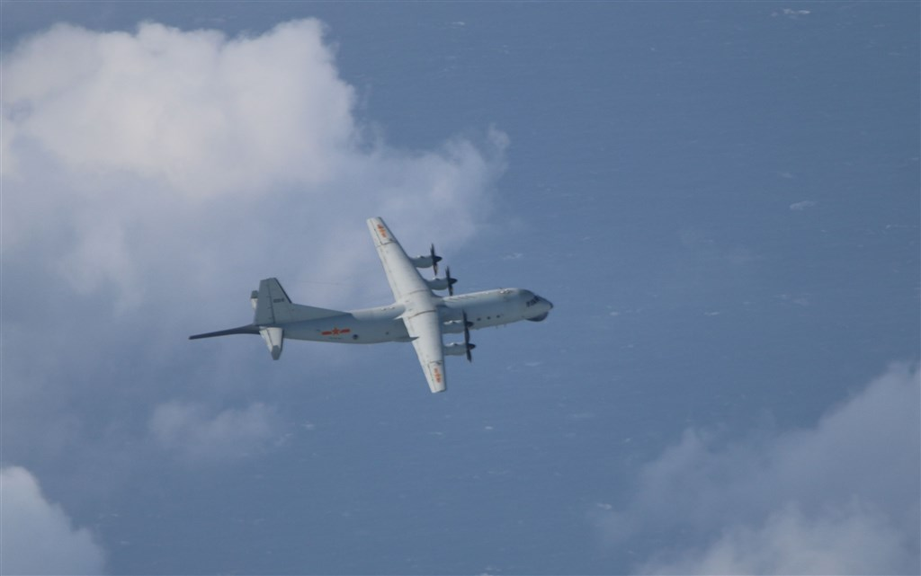 An Y-8 anti-submarine aircraft. Photo courtesy of the Ministry of National Defense