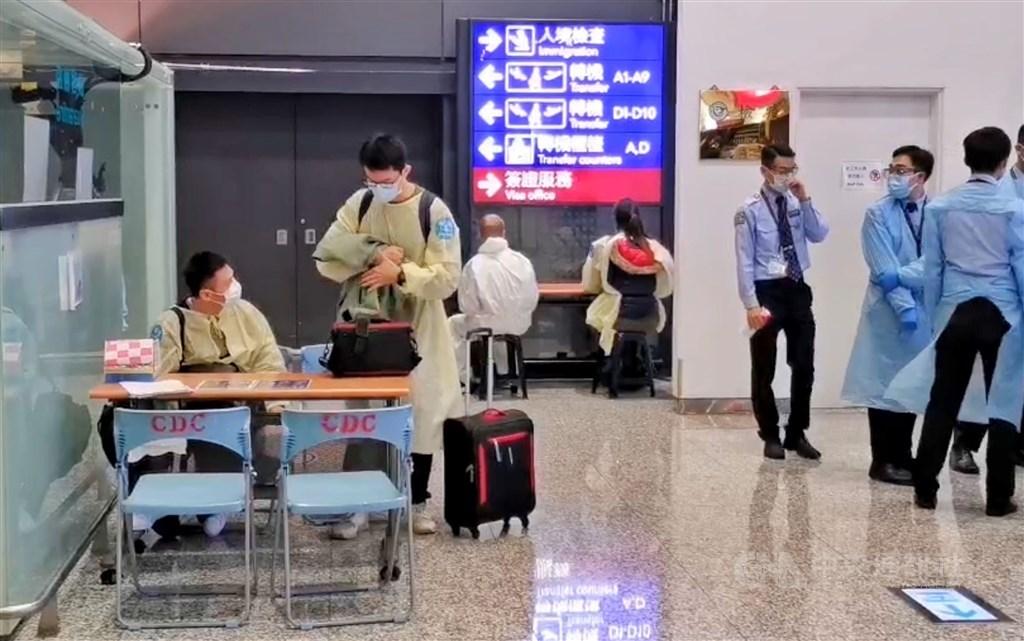 At Taiwan Taoyuan International Airport. CNA file photo