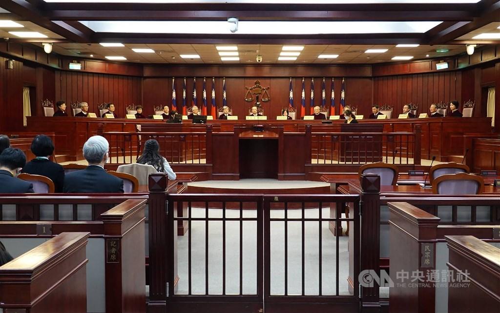 The Constitutional Court. CNA photo Dec. 31, 2020