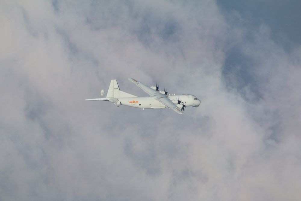 A Y-8 anti-submarine plane / Photo courtesy of the MND