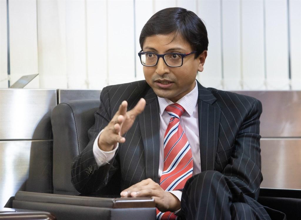 Gourangalal Das, director-general of the India Taipei Association