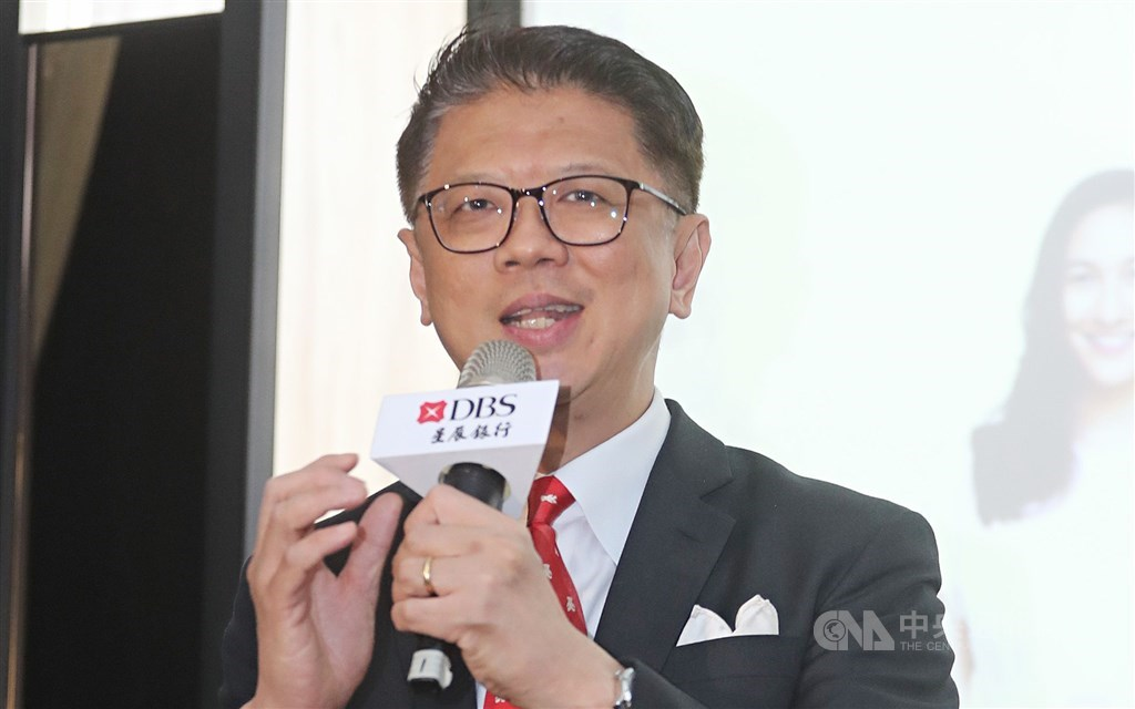 Lim Him Chuan, general manager of DBS Bank (Taiwan). CNA file photo