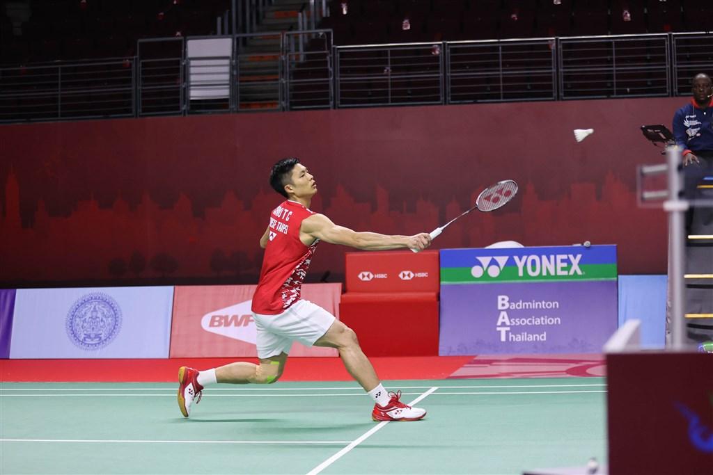 World No. 2 Chou Tien-chen. Photo courtesy of the Badminton Association of Thailand