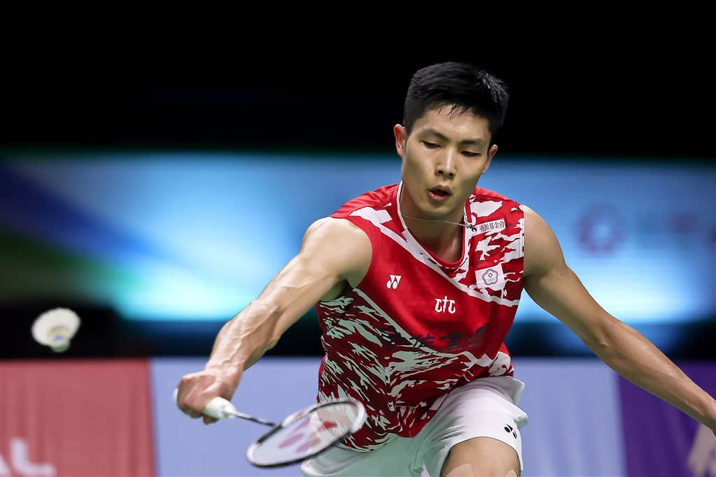 World No. 2 Chou Tien-chen. Photo courtesy of the Badminton Association of Thailand